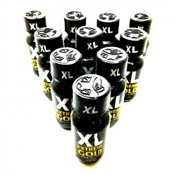 10 x 25ml XL EXTREME GOLD