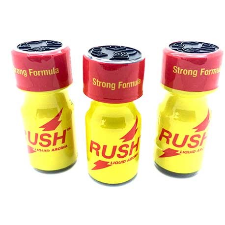 Rush Poppers x 3 - buy online poppers from UK Poppers