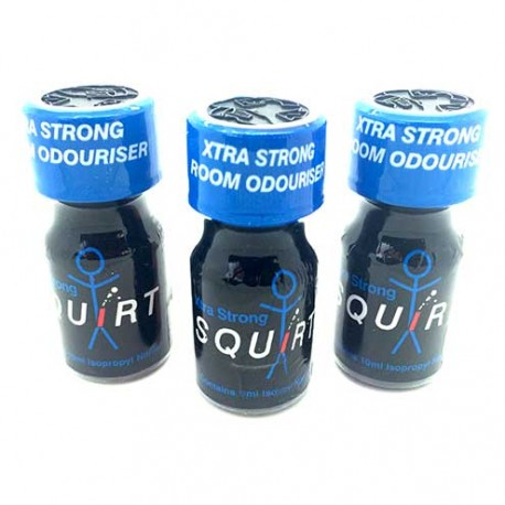Squirt Poppers x 3 - buy poppers cheap by UK Poppers online